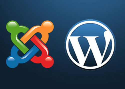 joomla i wordpress